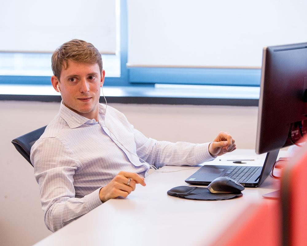 Infor team member listening