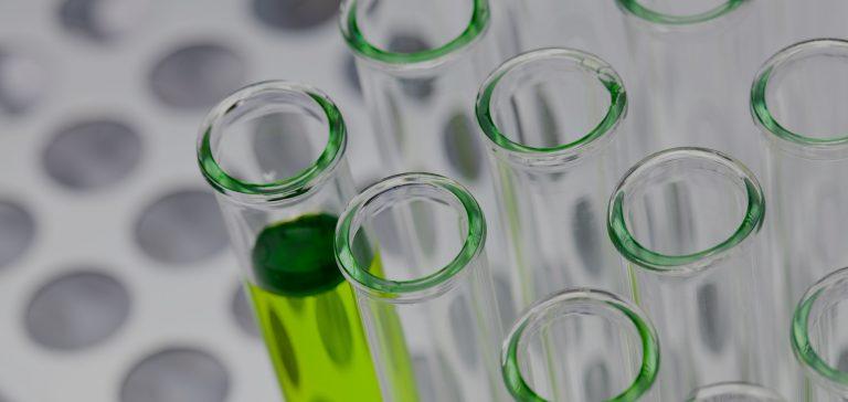 Chemical test tubes