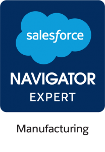 Salesforce Navigator expert manufacturing